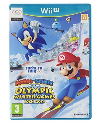 Juego Sonic Mario Jj Oo De Invierno Sochi 2014 Recycle Company