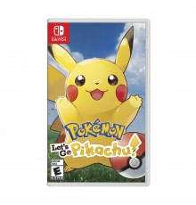 Juego Nintendo Switch Pokémon Let's Go Pikachu