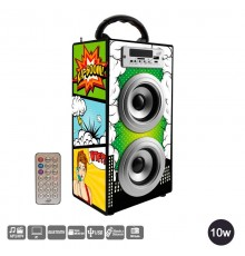 Reproductor serie Party Boom Box Larry House